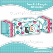 Polar Pals Penguin 3D Cracker Gift Box