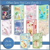 Offset Gatefold Card Bundle 1