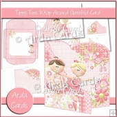 Tippy Toes Wrap Around Gatefold Card