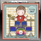 Drumming Andy Mini Kit With Ages 2 to 8 yrs