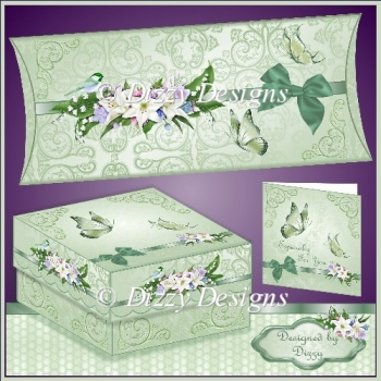 Fantasy Florals and Butterflies Gift Boxes