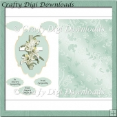 Mint Sympathy Lillies