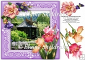 Rosemoor (2) An Enchanted Garden 8 x 8 Decoupage Card Topper