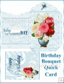 Birthday Bouquet Quick Card