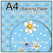 ref1_bp52 - Blue Daisy Flowers