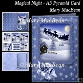 Magical Night - A5 Pyramid Card