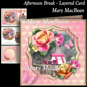 Afternoon Break - Layered Card