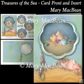 Treasures of the Sea - Card Front and Insert