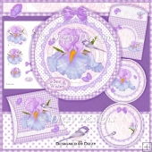 Fantasy Iris Card Kit and Pillow Box