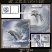 Angels Of The Sea Toppers & Insert