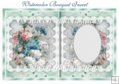 Watercolor Bouquet Insert / Topper