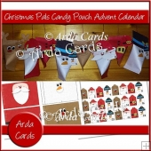 Christmas Pals Candy Pouch Advent Calendar