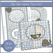 Aye Aye Captain Tent Card