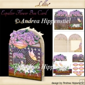 Espalier Flower Card Lillie 1