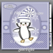 Curly Penguin Lilac Mini Kit