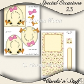 Easter Easel Card - Special Occasion - 3d - 23