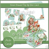 Forest Friends Pop Up Box Card
