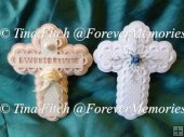Layered Cross Toppers,Silhouette Cameo,Curio,Portrait