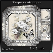 Shape Card Topper 340 Grey