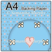 ref1_bp445 - Blue Flowers Hearts