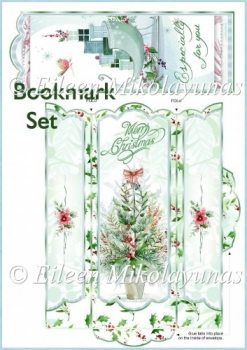 Christmas Delights Bookmark Set