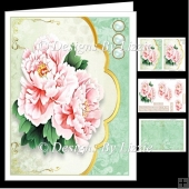 Peony Envelope Mini Kit