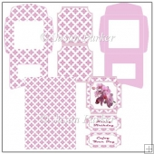 Orchid Easel Card