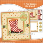 In The Garden Card Front & Insert Panel Kit