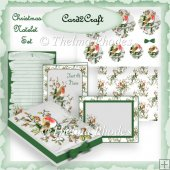 Christmas Notelet set 2
