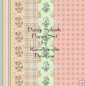 Daisy Splash Paper Set