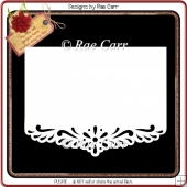 198 Wavy Edge Border Card *Multiple MACHINE Formats*