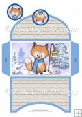 Christmas Freddy Fox Money Wallet