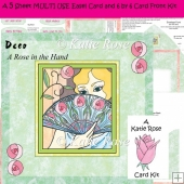 Easel and Super Square Deco A Glimpse 5 Sheet Kit