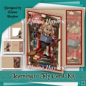 Learning to Fly Birthday Card Kit