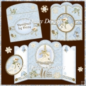 Warm Winter Wishes Gatefold Card