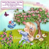 Girl In The Garden Set One Designers Resource CU PU png 300 dpi
