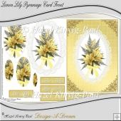Lemon Lily Pyramage Card Front
