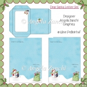 DEAR SANTA/FR CHRISTMAS LETTER SET