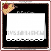 333 Happy Birthday Card *Multiple MACHINE Formats*