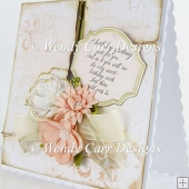 PEACHES N' CREAM SQUARE CARD