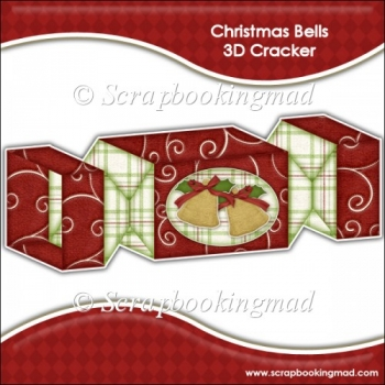 Christmas Bells 3D Cracker Gift Box