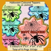 Halloween coloured Toppers