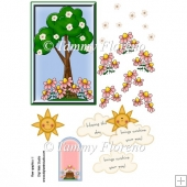 Sunshine Day Decoupage Topper