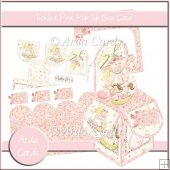 Tickled Pink Pop Up Box Card