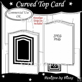 Curved Top Card Template Commercial Use Ok