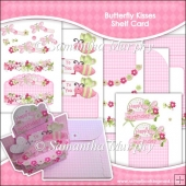 Butterfly Kisses Shelf Card & Card Box