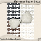 Shimmer Paper Bows 5
