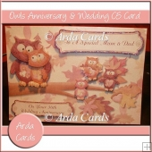 Owls Anniversary & Wedding C5 Card