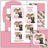 Anniversary/Wedding 4 Easel Card