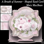 A Breath of Summer - Shaped Easel Card